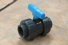 Vanne PVC 1-1/2  pouces DN40 40*49