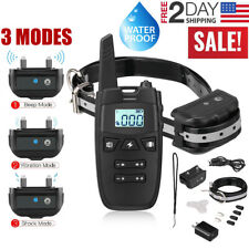 Dog Training Collar Training Bark E-Collar Remote Waterproof For Small Large Big