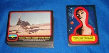 1978 Close Encounters Of The Third Kind Complete Set -3 Cards with 11 Stickers