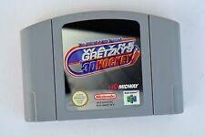 nintendo 64 spiele Spiel Wayne Gretzky 9 3D Hockey