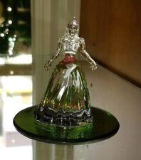 New Disney World Parks Arribas Aurora Mini Blown Glass Figure Figurine New
