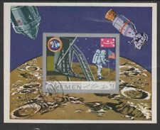 YEMEN #265G  1969 APOLLO11,  NASA     MINT VF NH O.G S/S IMP. (YE36   )