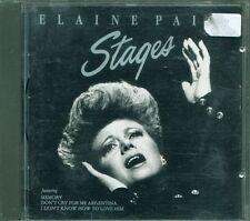 Elaine Paige – Stages No Barcode (Tony Visconti) Cd Eccellente