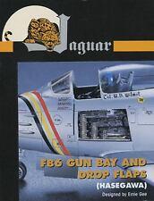 Jaguar 1/48 F-86 Gun Bay and Drop Flaps Accessory Set #64807 for Hasegawa Kit