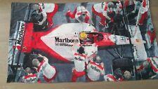 Rare Vintage Ayrton Senna McLaren/Honda Beach Towel^