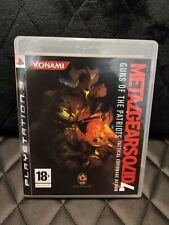 Metal Gear Solid 4 Sony PlayStation 3 PS3 PAL ESPAÑA Muy buen estado