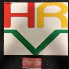 JDM Honda HR-V Brochure Rare Catalog Access 99-06 00 01 02 03 04 05 OEM GH1 GH2