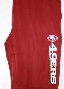 NEW Mens NFL Majestic San Francisco 49'ers Fleece Bottoms Sweat Pants Big & Tall