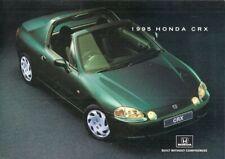 Honda CRX ESi 1995 UK Market Foldout Sales Brochure