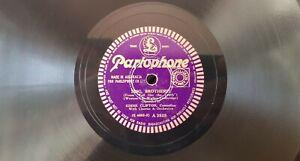 Eddie Clifton - Sing, Brother / Hoch, Caroline! - Parlophone 78 record