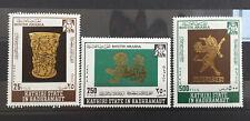Lot timbres Qu'Aiti State Hadhramaut 1968. Mi:AD-KS 220A/222A