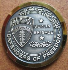 Berlin Brigade Diamond Cut Edge Commanders Army Challenge Coin