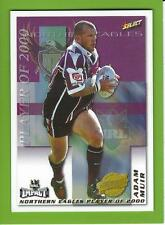 2001SELECT NRL IMPACT SERIES-CLUB PLAYER OF THE YEAR-CP9-ADAM MUIR-MANLY