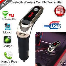 Bluetooth FM Transmitter Auto KFZ SD Musik MP3 Player USB AUX Für iPhone 7 7Plus