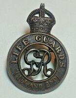 WWI Life Guards 1st & 2nd Battalion Hat Cap Badge AUTHENTIC GENUINE