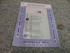 Microscale decals HO MC-4240 Pacific Fruit Express early ice reefers   LLL