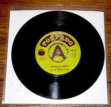 "HOT ROD ALL STARS ~ MOONHOP IN LONDON b/w SKINHEAD MOONDUST ~ UK 7"" REGGAE 1970"