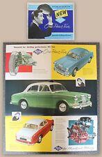 Prospetto pubblicitario opuscolo Riley One-Point-Five 1.5 automobilistica Oldtimer 1958 XZ