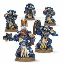 Warhammer 40000 48-19 Space Marine stenguard veteranos Squad 5 X Mini Figuras Kit T48