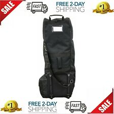 Golf Bag Travel Covers Hard Case Club Wheels Rolling Protector Waterproof Padded