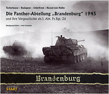 "THE PANTHER BATTALION ""BRANDENBURG"" 1945 ODER FRONT - SEELOW HEIGHTS - THE HALBE"