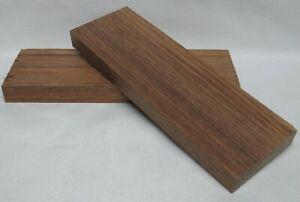 Tasmanian Blackwood Knife Scales Book Matched