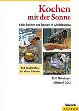 Kochen mit der Sonne Behringer, Rolf|Götz, Michael Ökobuch Faktum