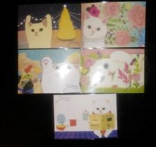 Korean Jetoy Choo Choo Cat Postcard/Invitation/Party Favor/PenPal 5pcs Set 3