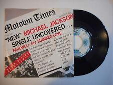MICHAEL JACKSON : FAREWELL MY SUMMER LOVE ► EP / 45 ◄ PORT GRATUIT