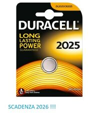 1 BATTERIA A BOTTONE DURACELL CR2025 LITIO 3 V PILE CR 2025