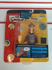 The SIMPSONS NUMBER ONE Interactive PATRICK STEWART'S VOICE #199446 Series #12