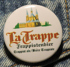 Pin Button Badge Ø38mm  La Trappe Trappist (bière) 1