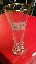 """Bierglas Biertulpe Sammlerglas mit Druck """"Tuborg Beer Copenhagen Denmark"""",20 cm"""