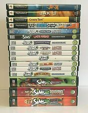 The Sims 3 Game MAC, Sims 2 PC,Jak 2 & 3,SSX On Tour,Crazy Taxi, LOT OF 15 GAMES