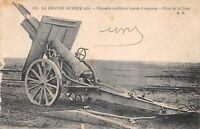 La Grande guerre 1914 - Nouvelle artillerie lourde Française - Pièce de 155 long