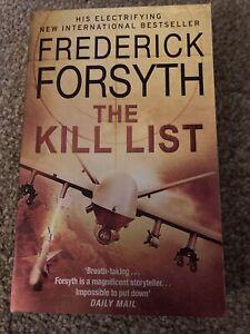 The Kill List By Frederick Forsyth Thriller Book