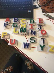 Leapfrog Fridge Phonics Replacement Letters