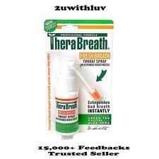 THERABREATH FRESH BREATH THROAT SPRAY 30ML *FREE EXPRESS POST*
