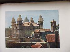 MADAGASCAR:Gravure 19°in folio couleur/ PALAIS DU EX 1er MINISTRE/CASERNE MARINE