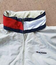 Tommy Hilfiger Colorblocked Big Flag Jacket Mens Size L