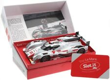 Slot.it SICW14 Audi R18 e-tron quattro Le Mans 2012 No. 1 Limited Edition Winner