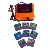 VTech VSmile TV Learning System Console + 8 Games (No Controllers)