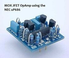 Discrete Op Amp - MOX JFET NEC UP686 by KAD Products