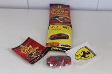 Micro Cars 2015 FERRARI Cards + stickers + libretto Numero 10 FERRARI F12