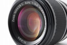 【 EXCELLENT+++ 】Nikon ZOOM-NIKKOR C Auto 43-86mm F/3.5  LENS NON-Ai from Japan