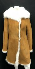 Ugg Australia Vanesa Toscana Shearling Coat 1017644 Jacket Chestnut size Medium