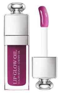 DIOR ADDICT 'Lip Glow' Nourishing Glossy Lip Oil in 006 Berry * NIB * Retail $34