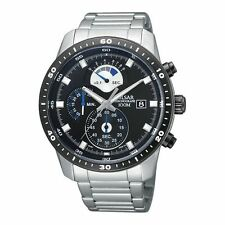 Relojes de pulsera de acero inoxidable Cronógrafo para hombre