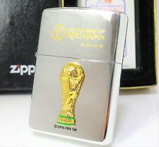 FIFA World Cup KOREA JAPAN zippo Unfired 2000 Rare                     #30190246