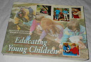 Educating Young Children Active Learning Practices Preschool Child Care 1995 PB